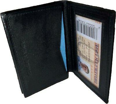 2 women men's Leather Business ID card holder bnwt