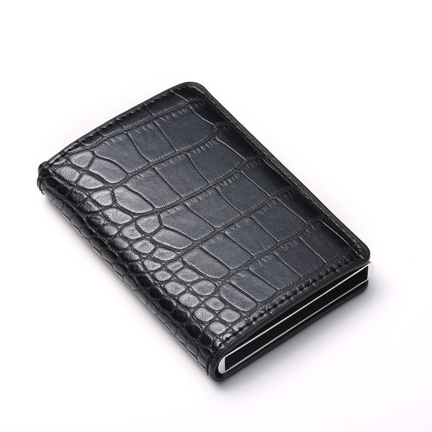 BISI GORO 2019 Credit <font><b>Card</b></font> Carbon Fiber <font><b>Slim</b></font> RFID <font><b>Card</b></font> Wallet
