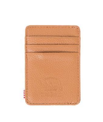 NEW- Herschel Supply Co. Men's Raven Leather Card Holder Wal