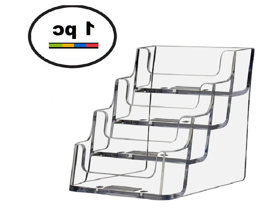 One Acrylic Plastic Business Card Holder Deflecto Style,  CL