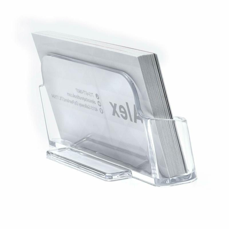 Maxgear Acrylic Business Holder Plastic Business Display