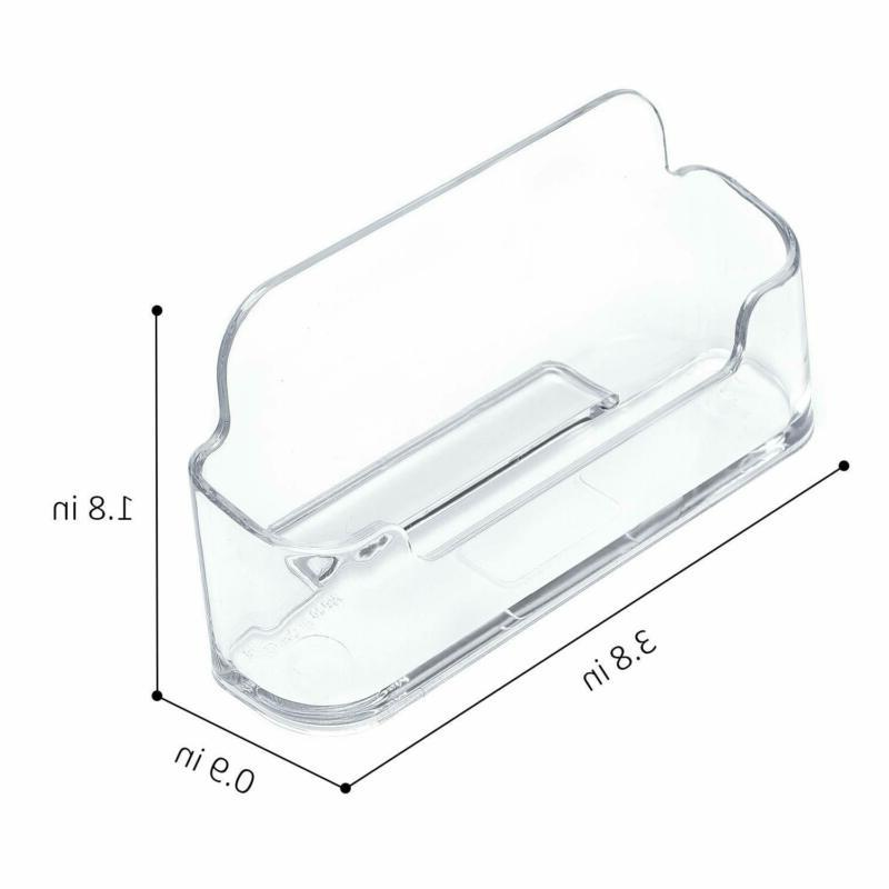 Maxgear Business Holder Plastic Display Clear Busines