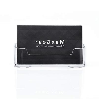 MaxGear Business Holder Stand Clear 3