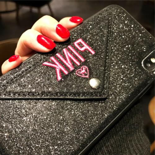 Bling Holder Wallet iPhone XS Max X 7