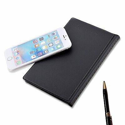 MaxGear Business Card Holder, Professional PU Leather Office Card Holder