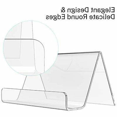 Business Card Holder Desk Acrylic Clear Pack