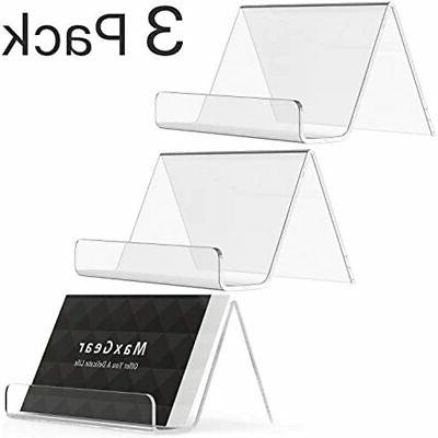 business card holder for desk acrylic display