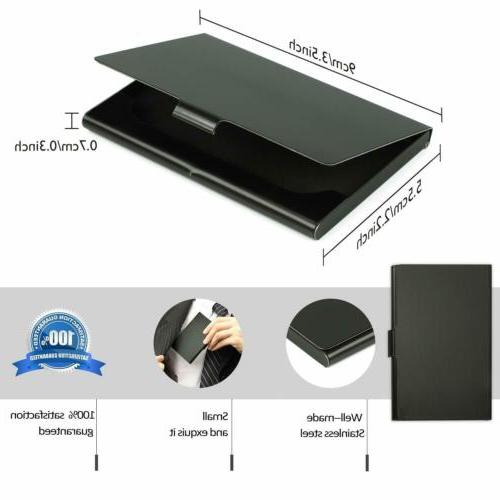 Business Card Professional Stainless Steel Business Name Card Case