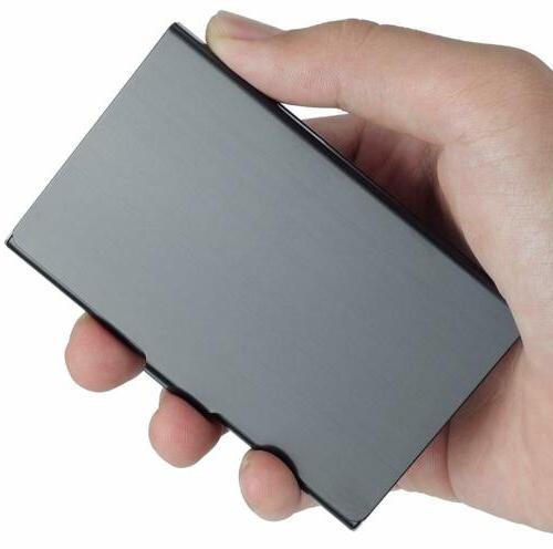 Business Holder Stainless Card