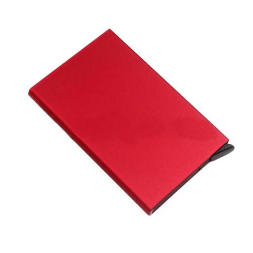 Card Holder Stainless Wallets Mens ID Box