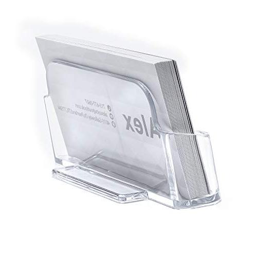MaxGear Card Display Office Business Card Holder Business Card Stand Card Desk Business
