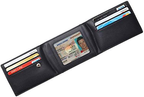 Travelambo Credit Cover Front Pocket Wallet Blocking