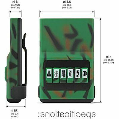 ACM Holder Camo Green &amp Black Pocket Organizer,