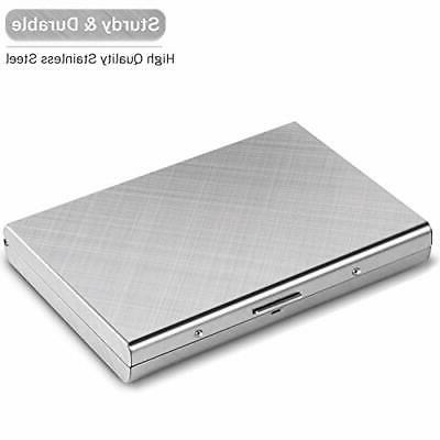 Credit Card Metal Case for Women Men RFID Durable