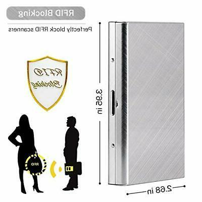 Credit Protector Metal for Women Men Sturdy Durable