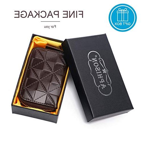 APHISON Holder Security Wallet for Women for Girls/Gift Box 7112
