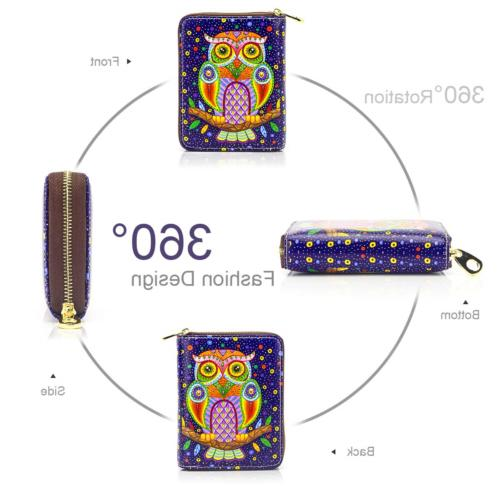 APHISON Credit Card Zipper Security for Women