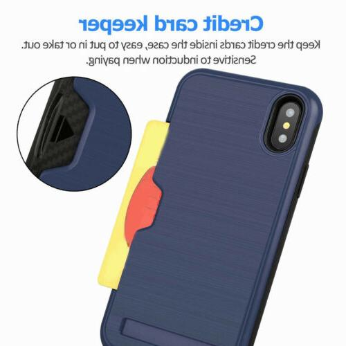 Credit Holder with For iPhone Max XR 8 6S 6