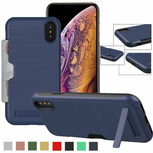 credit id card holder with stand phone