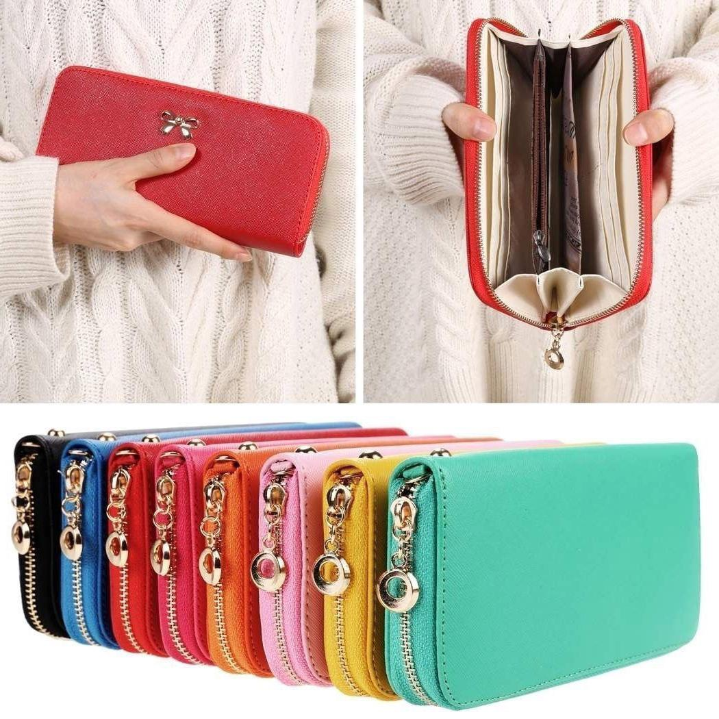 Fashion Women's Clutch Wallet Card Holder Case Purse Handbag