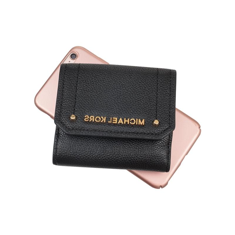 <font><b>Michael</b></font> <font><b>Kors</b></font> Hayes Pebble Coin Case 35F8GYEF2L wallet