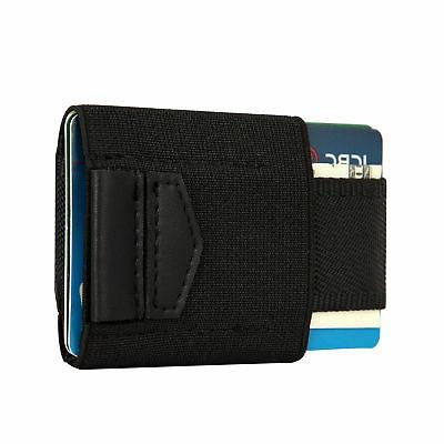 Front Minimalist EDC Slim Wallet 15 Holders Coins Keys