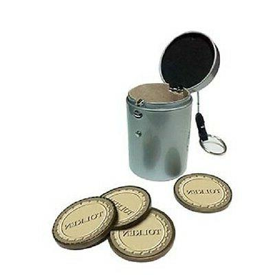 gaming token and accessories holder holds tokens