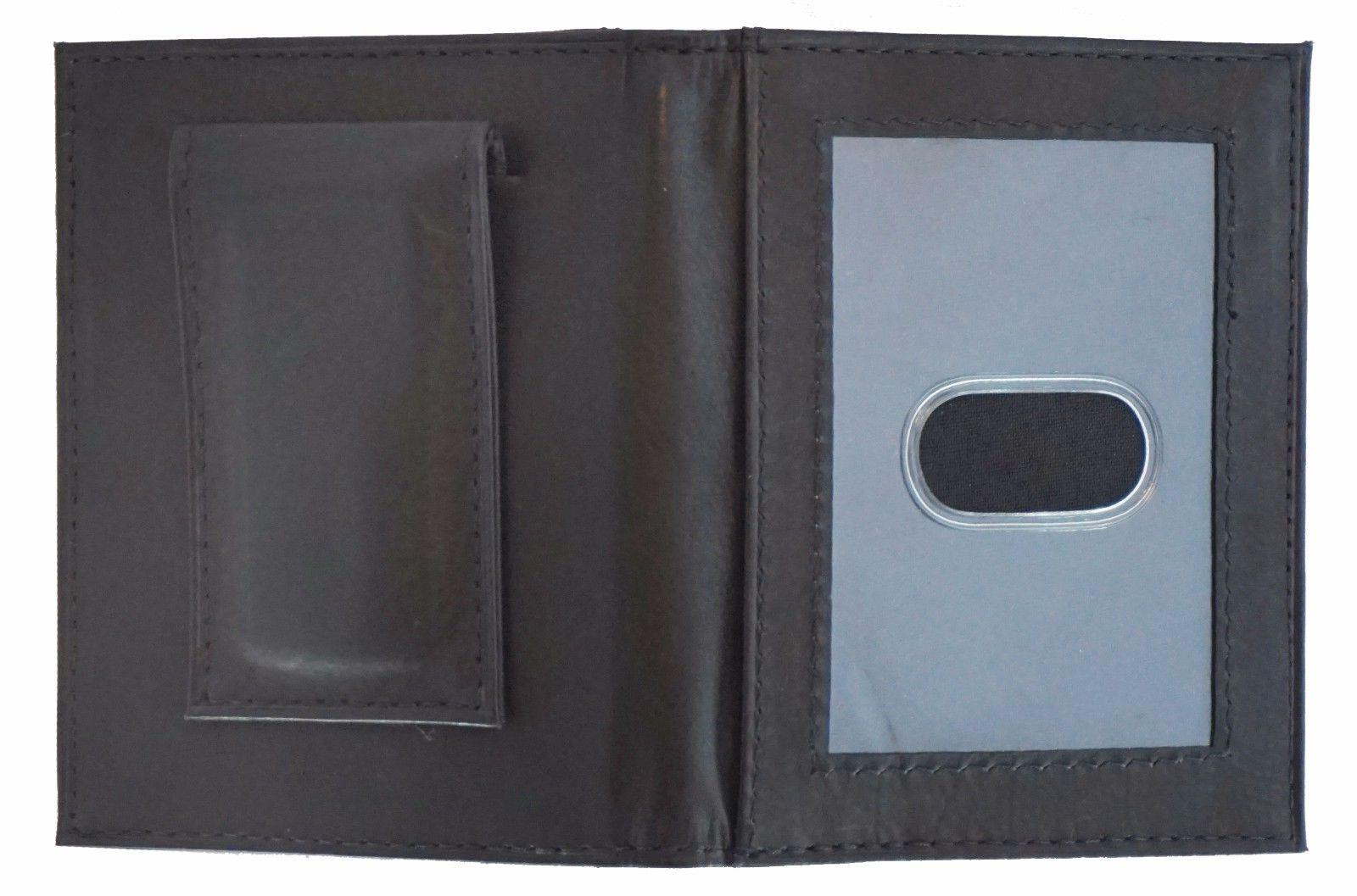 Mens Clip Black ID Holder