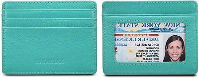 KALMORE Leather RFID Protected Wallet