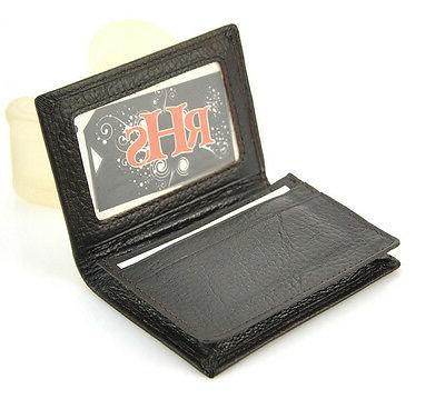 Genuine Real Name Credit ID Card Holder Men Women