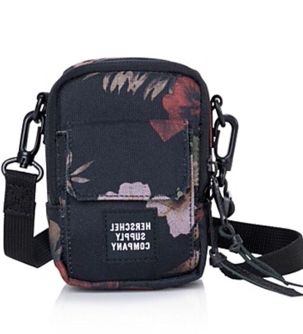 "Herschel Supply Co. ""Raven"" Media Bag &  Card Holder Combo S"