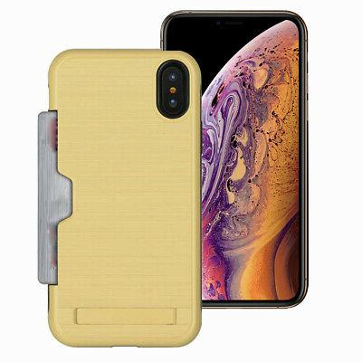 Hidden Credit with Case iPhone 6s 6 XR X