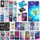 For HTC M7 M8 M9 Desire Card Holder Wallet Pouch Bag Pattern