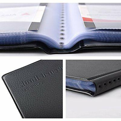 Index & Business Card Files Professional Leather