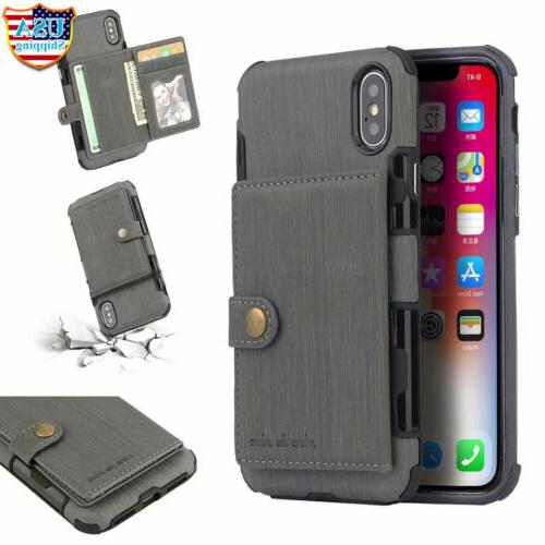 For iPhone 11 XS XR 6 7 Plus Holder Cover