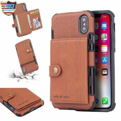 For 11 XS 6 7 Wallet Card Holder