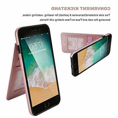 KIHUWEY 6 Plus iPhone 6S Plus Case Wallet with Holder,