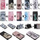 For Samsung IPhone ZTE Series Strap Wallet Card Holder Leath