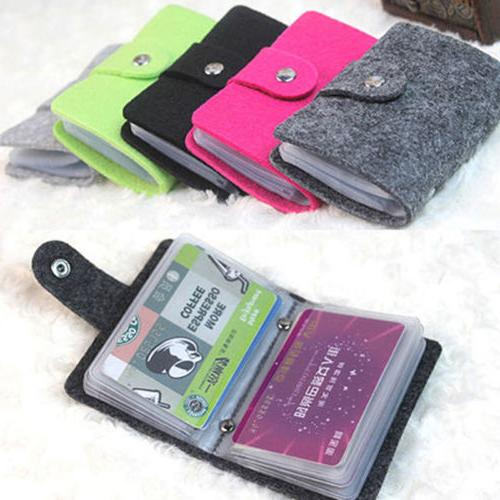 Mens Womens Cards Slim ID Credit Card Holder Business Pocket