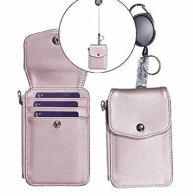 Woogwin Badge with ID Holder Wallet 1 R... New