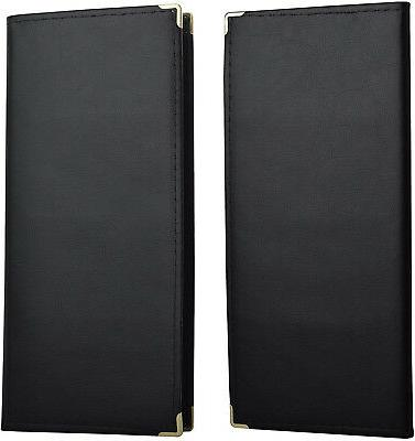 MaxGear Leather Book Name PU Holder Cards