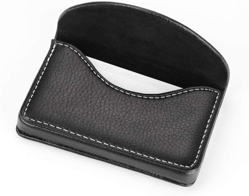 Leather Case With Magnetic Black, Bus