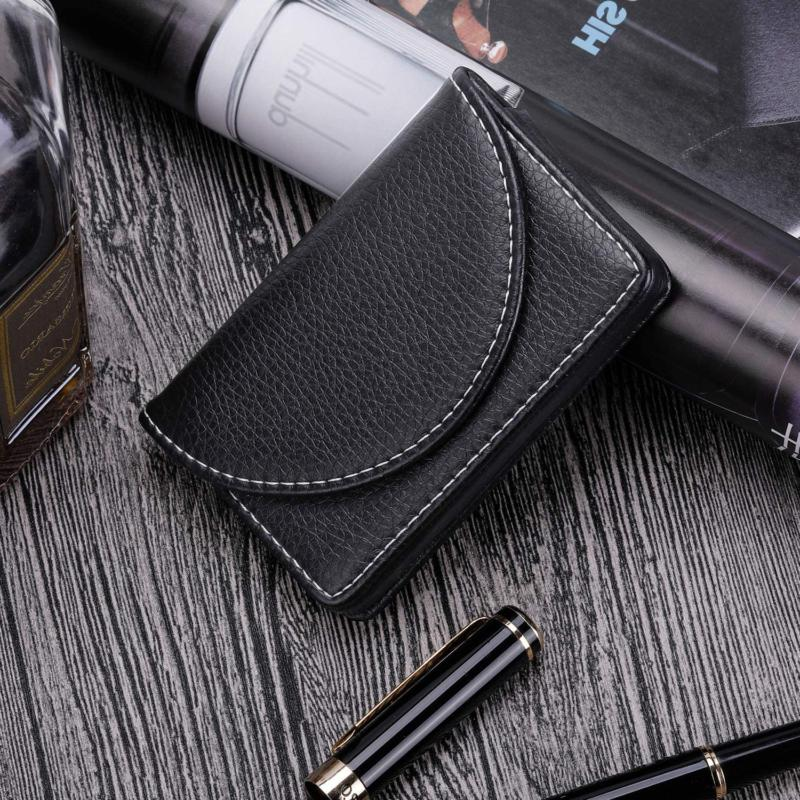 Leather Case With Black, Holds Bus