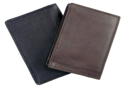 New Holder Card Case Black Mens