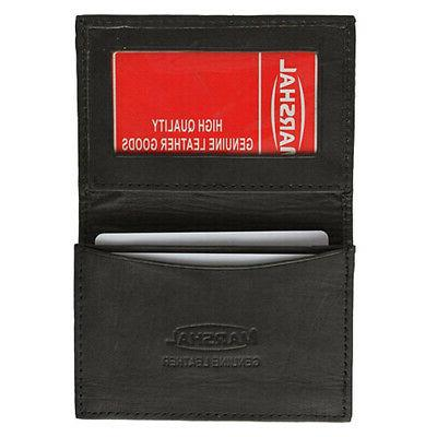 leather business card holder expandable