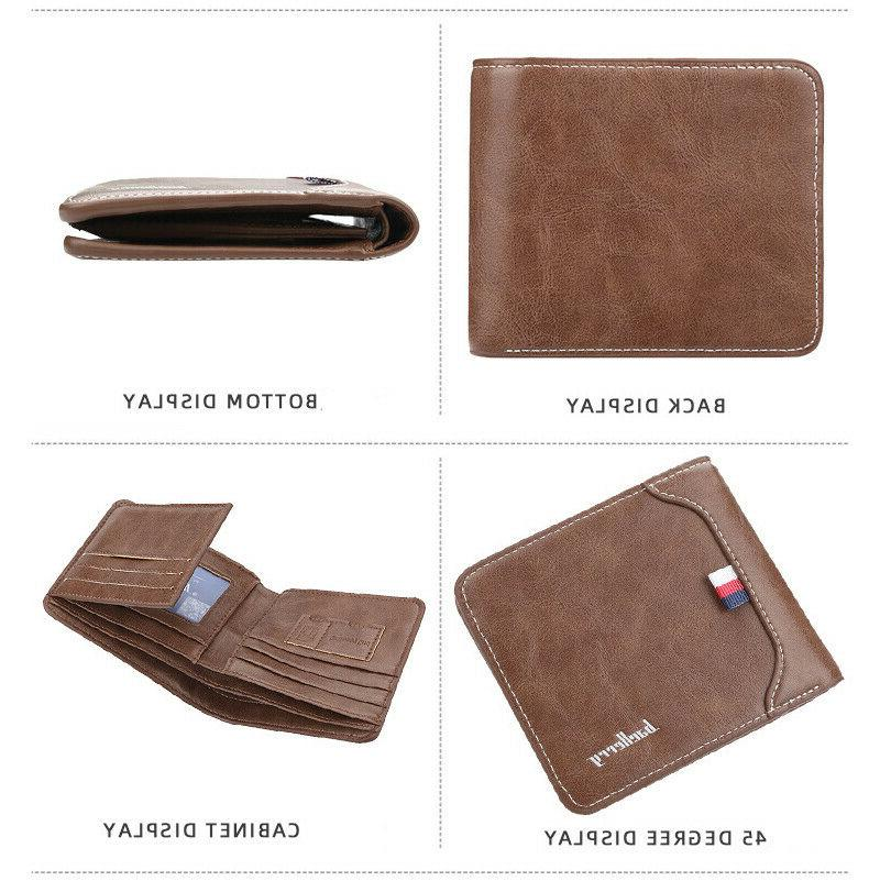 Leather Credit Slim Front Purse