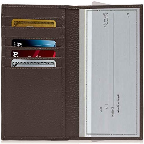 Leather For Women RFID Checkbook Box Gifts For Women