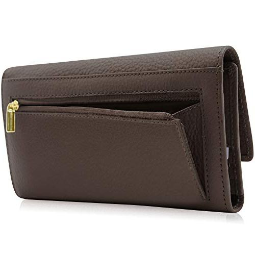 For Women RFID Wallet With Checkbook Holder Box Gifts For
