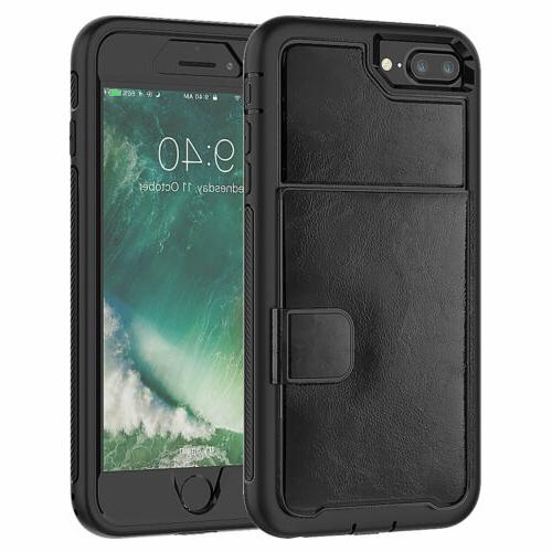 Hybrid Card Phone Case with Cover For 6s 8