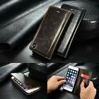 Luxury Leather Case Wallet Card Holder Flip Stand Cover For